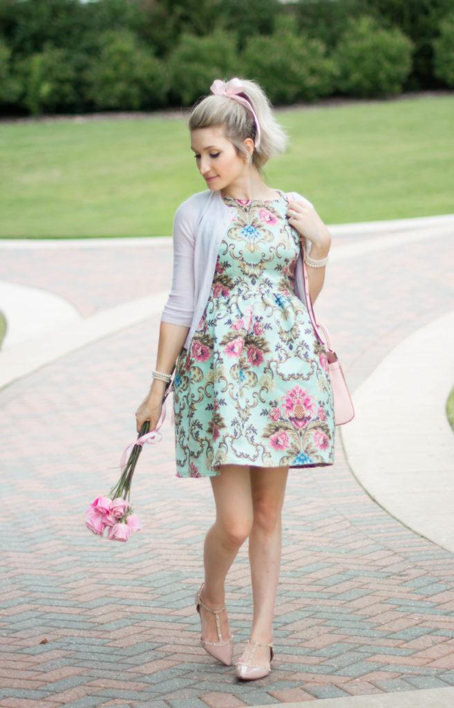 The Best Floral Feminine Dress