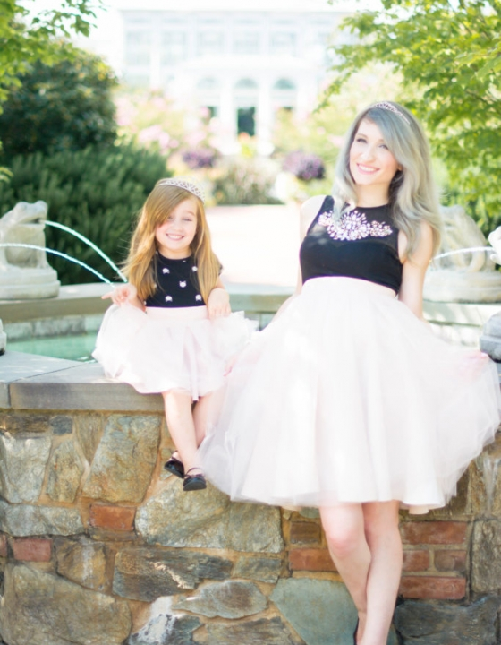 Princesses Mommy And Me With BlissTulle