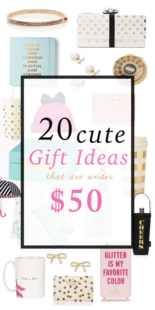 giftguidecuteunder$50
