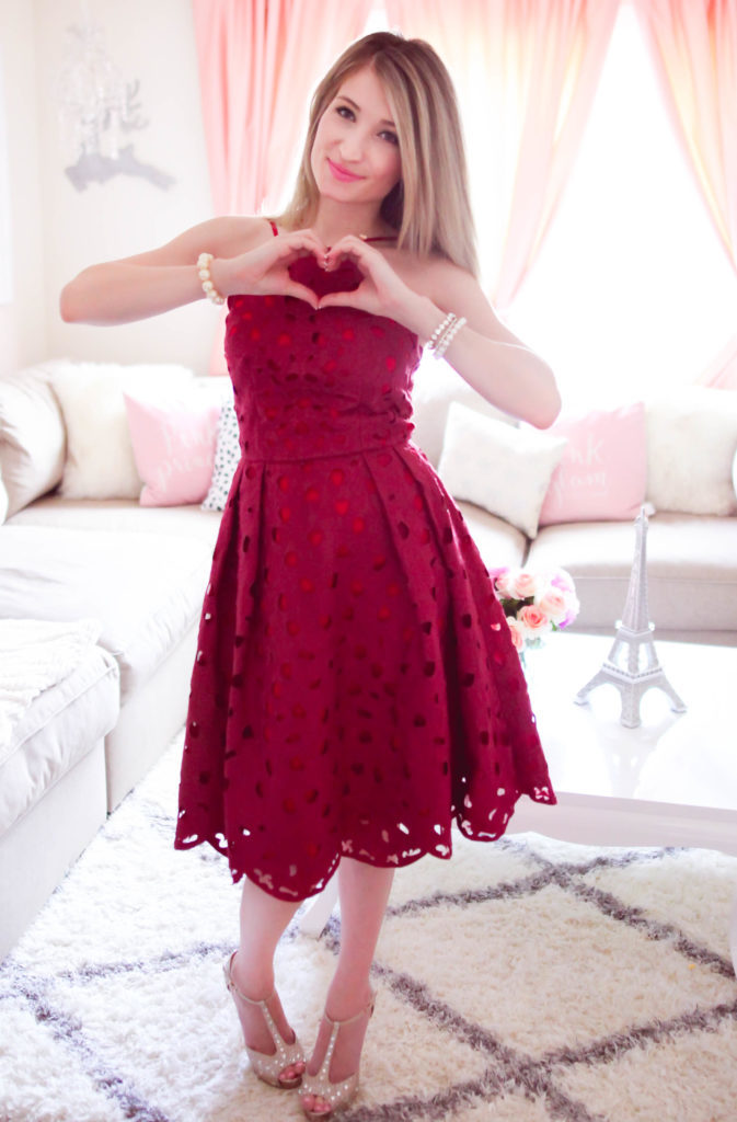 The Perfect Dress For Valentine's Day