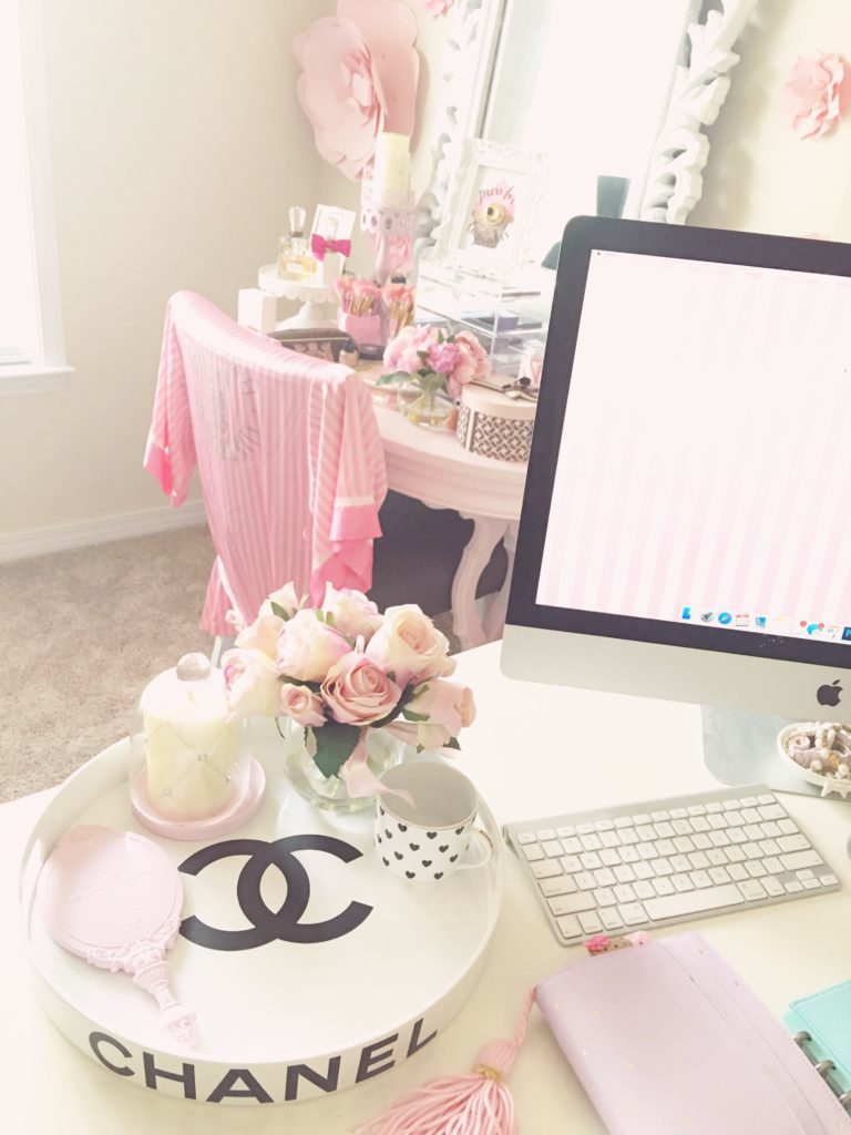 girly home decor