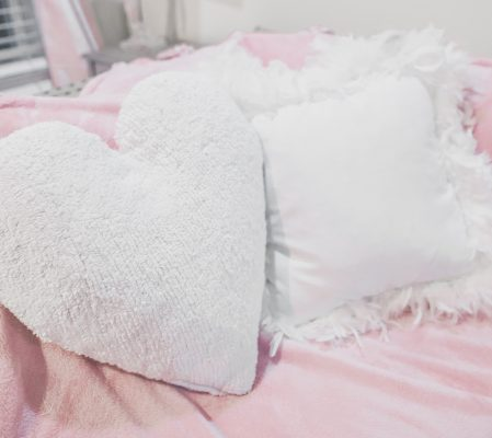 The Cutest Heart Pillows
