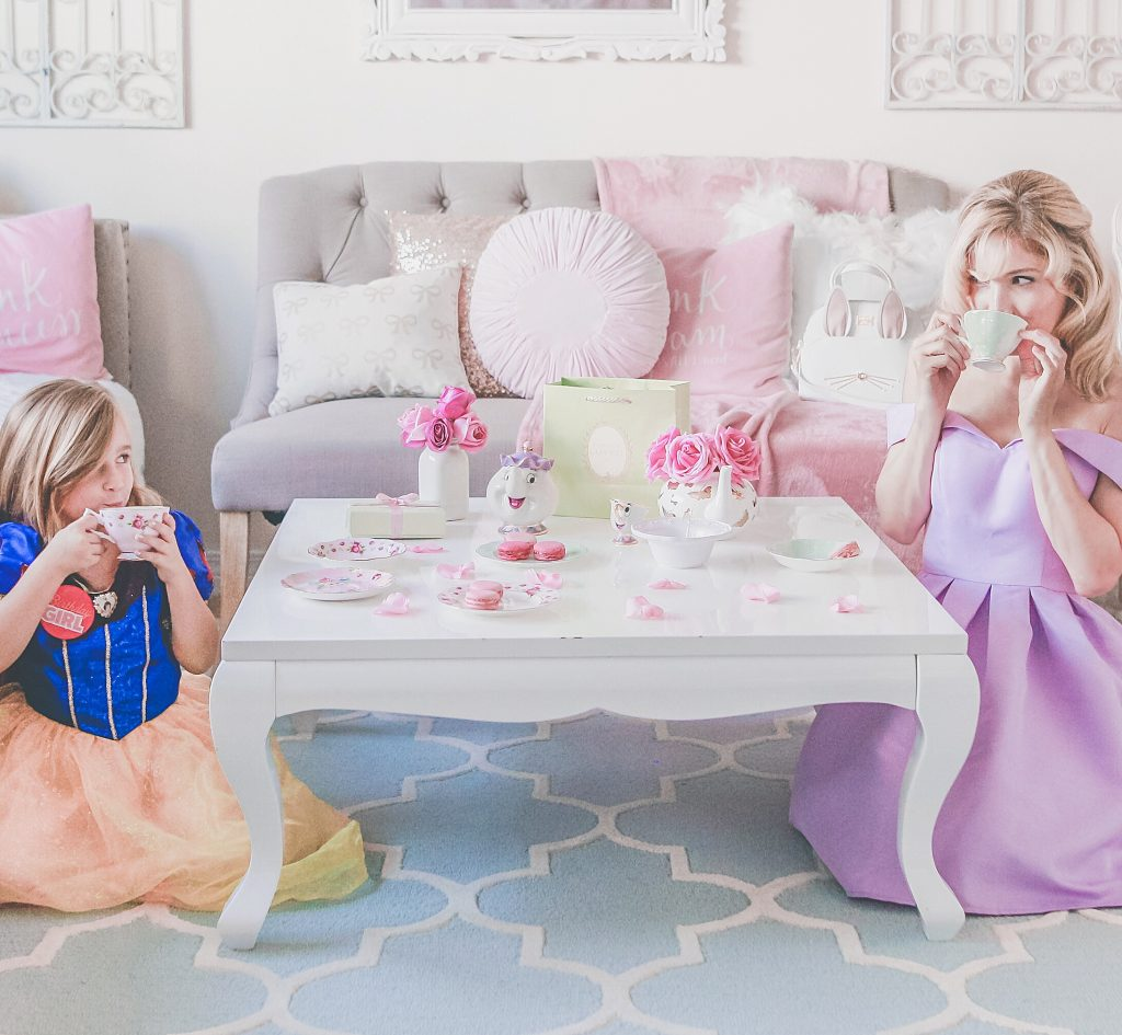 A Girly Tea Party For Making Birthday Memories