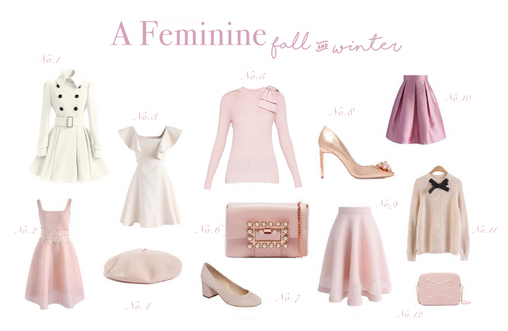The Full List of My Favorites For A Feminine Fall & Winter Wardrobe