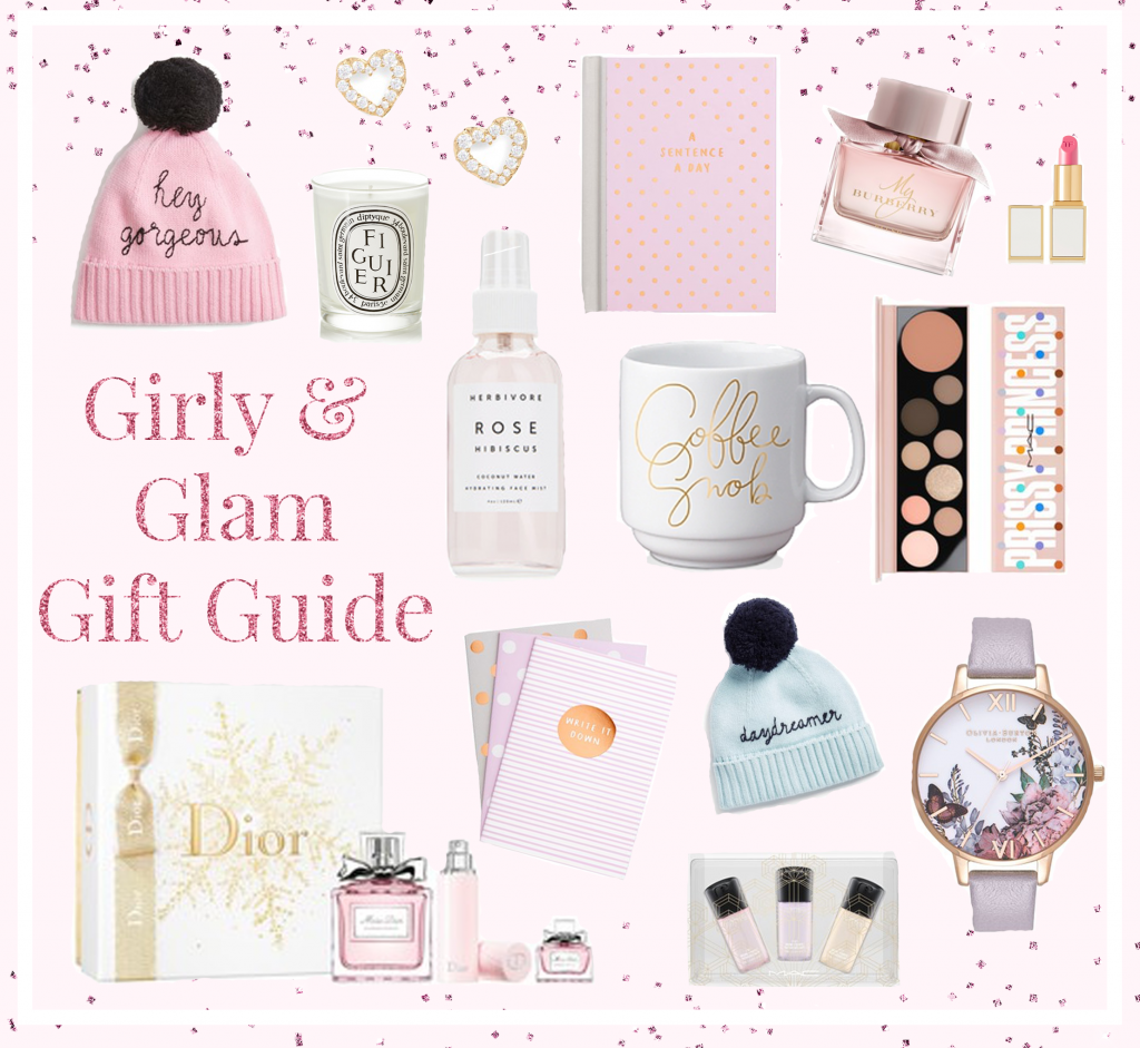 A Girly Glam Gift Guide For The Last Minute Shoppers