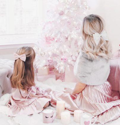 Feminine Holiday Style | Mommy & Me Edition