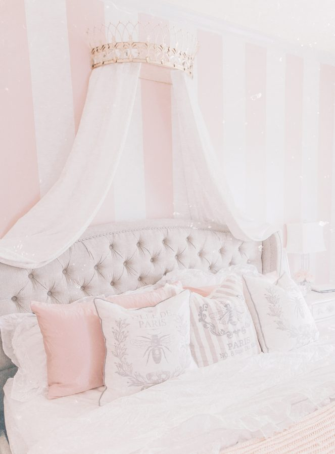A Glamorous & Elegant Tufted Bed by Overstock
