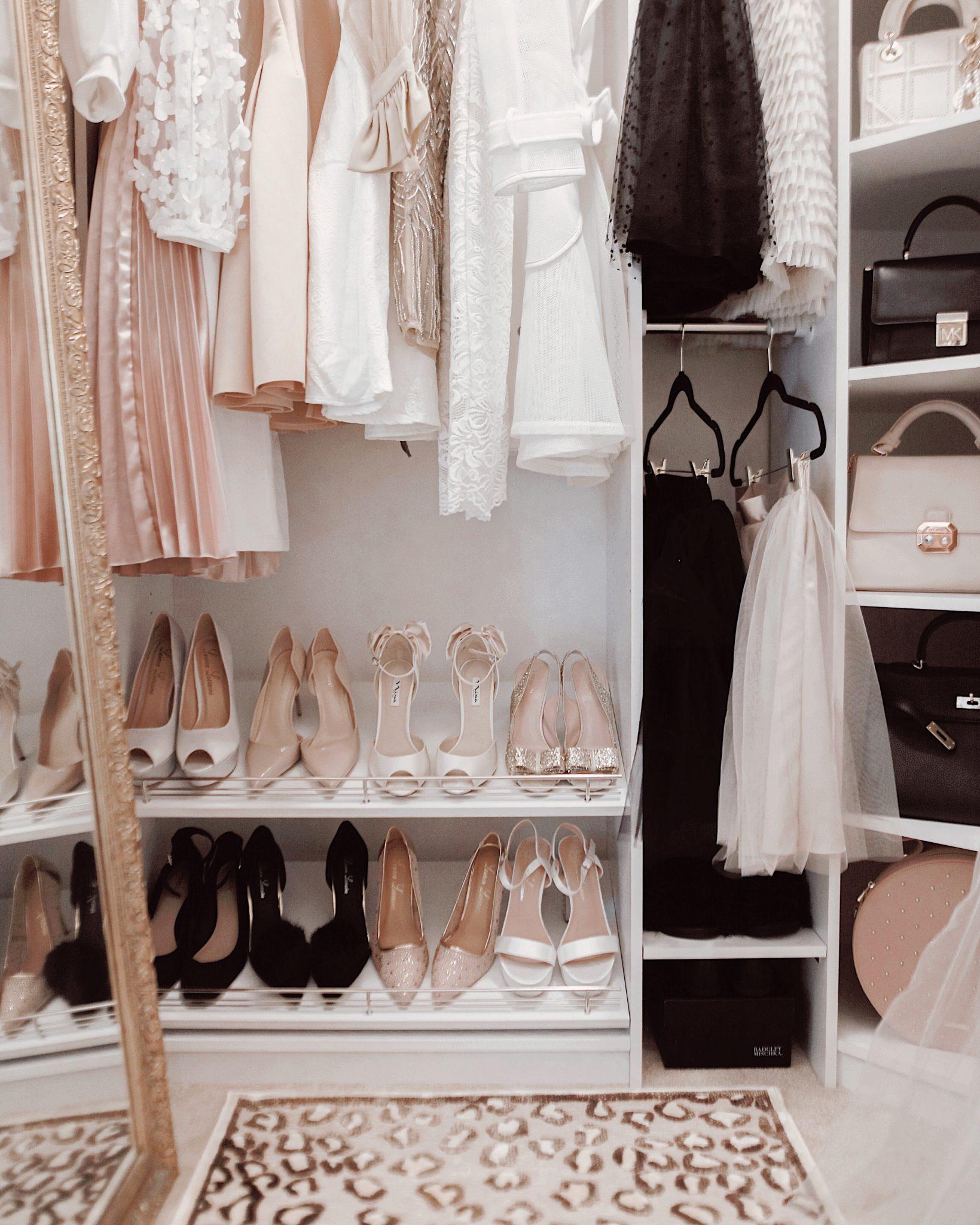 A Pretty Couture Closet Makeover